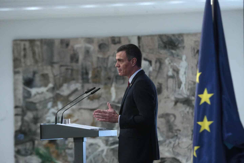 Pedro Sánchez presenta el Plan de Recuperación.