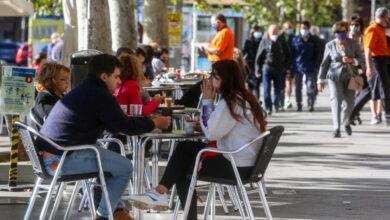 Los hosteleros de Madrid esperan un aumento de la  facturación si se aprueba el cierre perimetral