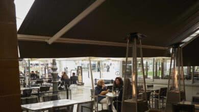 Agotadas las estufas para terrazas  de bares y restaurantes