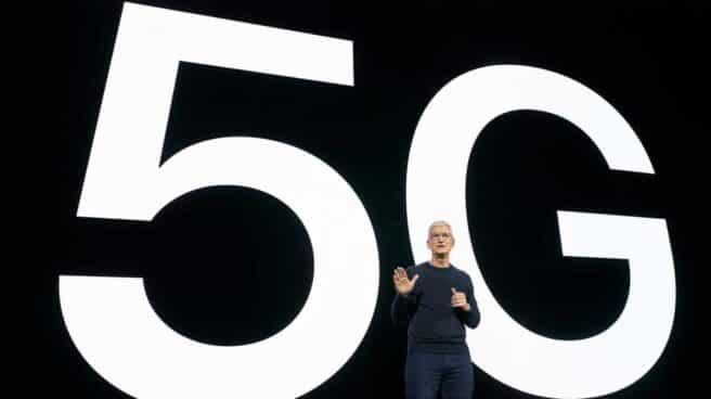 Apple en la presentación del nuevo Iphone.