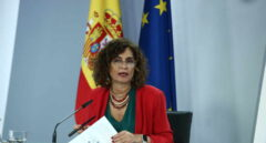 La ministra Portavoz y de Hacienda, María Jesús Montero.