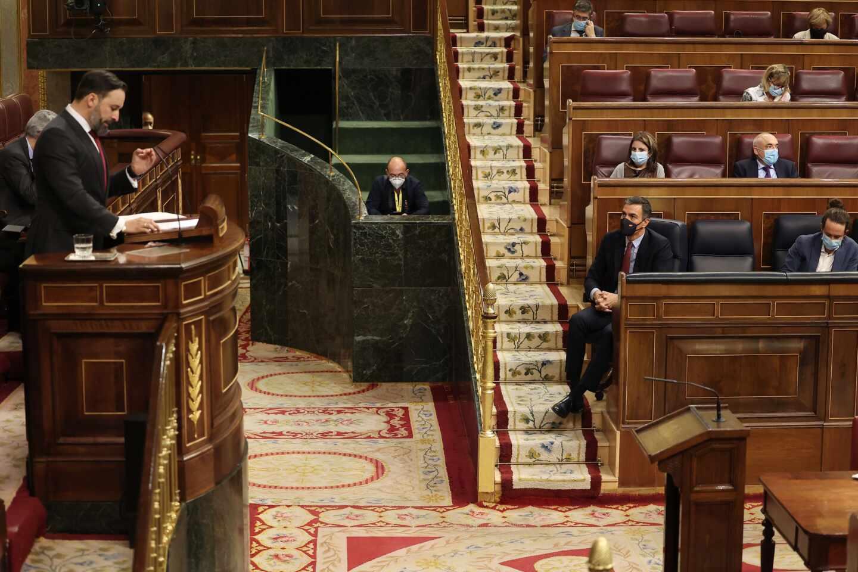 Moción de censura de Santiago Abascal (Vox).