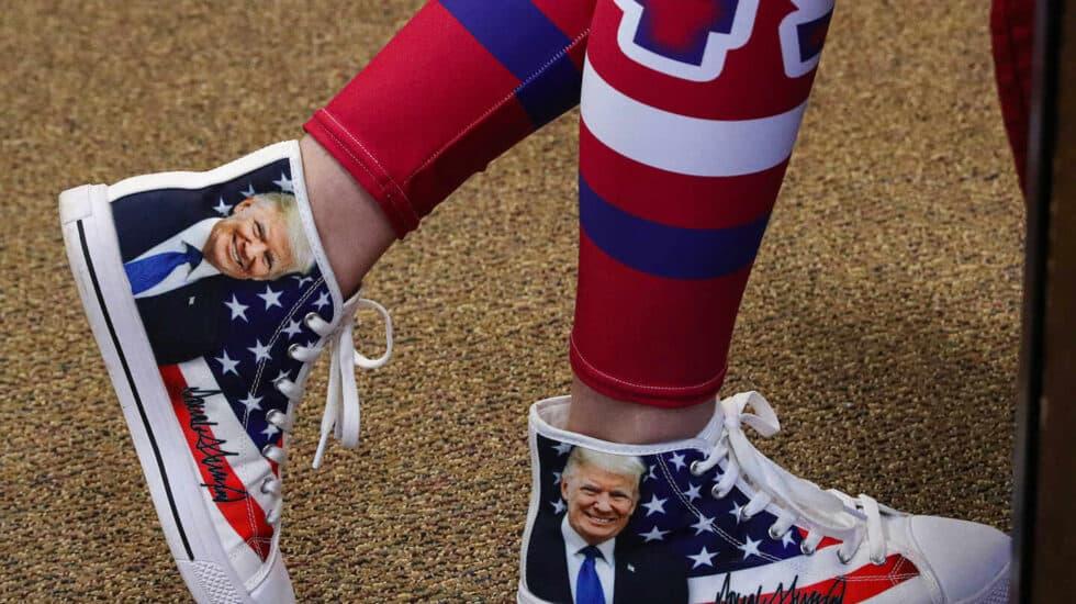 Zapatillas de Trump.