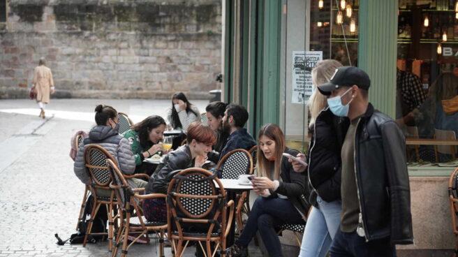 Ambiente en Bilbao un día antes de una previsible aplicación del estado de alarma