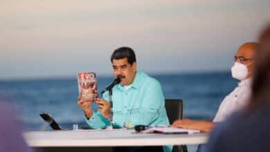"""Maduro: Leopoldo López busca """"una guerra"""" contra Venezuela desde España"""