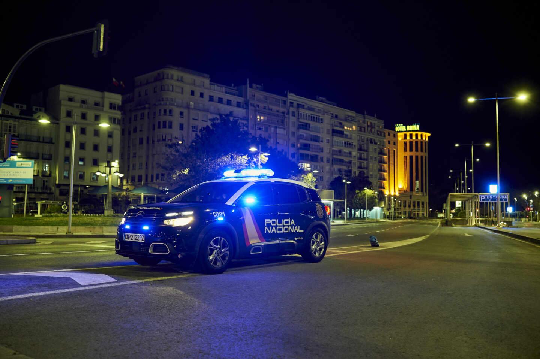 Toque de queda en Santander.