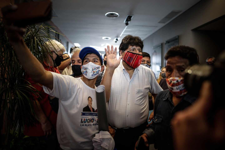 Evo Morales-victoria-Bolivia
