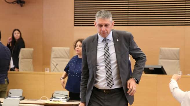 El inspector Fuentes Gago, cuando declaró en el Congreso de los Diputados.