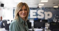 Susanna Griso, en los estudios de Espejo Público durante una entrevista con El Independiente.