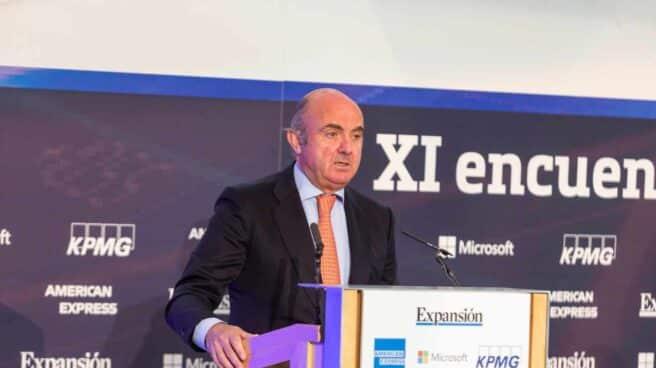 Luis de Guindos, vicepresidente del BCE.