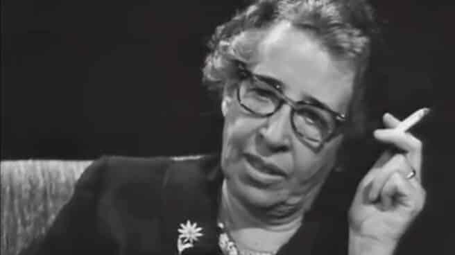 Hannah Arendt en una entrevista con ZDF en 1964