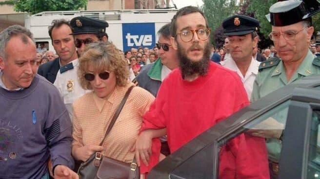 José Antonio Ortega Lara, tras ser liberado en 1997.