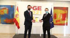 Pedro Sánchez y Pablo Iglesias presentan los Presupuestos.