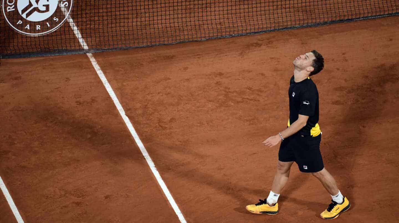 Schwartzman, tras ganar a Thiem en los cuartos de final de Roland Garros