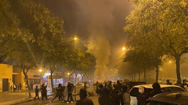 Incidentes en Sevilla