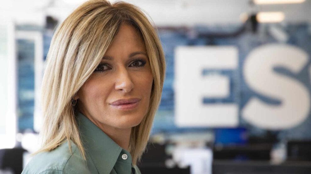 Susanna Griso, en los estudios de Espejo Público durante su entrevista con El Independiente