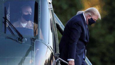 Dos versiones sobre Trump: buena evolución según los médicos, muy preocupante según una fuente de la Casa Blanca