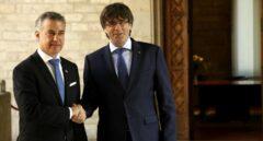 Cataluña y Euskadi, una década y dos 'procés'