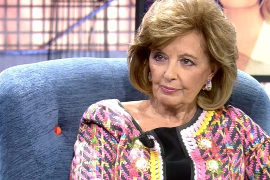 María Teresa Campos en 'Sálvame Deluxe'.