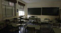 Aula vacía de un instituto.
