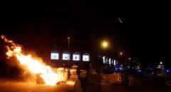 Disturbios y cargas policiales en Barcelona en el aniversario del 1-O