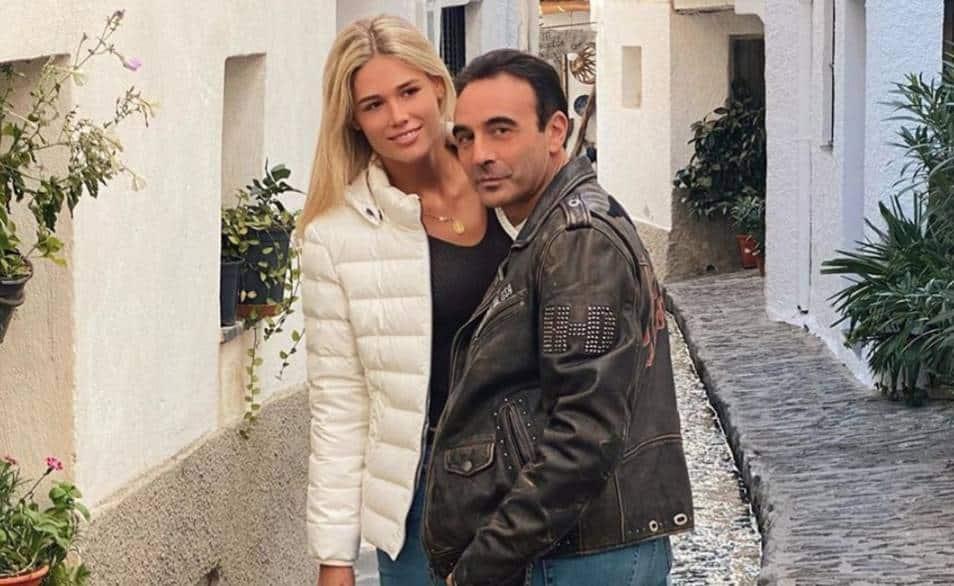 Enrique Ponce y Ana Soria en la última publicación del torero en Instagram.