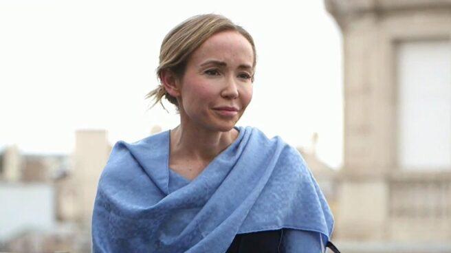 Ángela Dobrowolski en el programa 'En el punto de mira' de Cuatro. Mediaset.