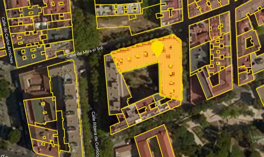 Imagen del simulador de Energía Independiente (Galp) para calcular la rentabilidad del autoconsumo en un edificio.