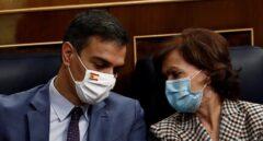 """Sánchez abre una nueva era en el Gobierno y Podemos celebra la salida de Calvo: """"Era tóxica"""""""