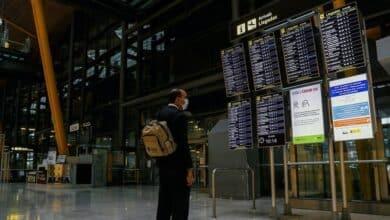 Las aerolíneas recortan cuatro millones de asientos en vuelos a España para este mes