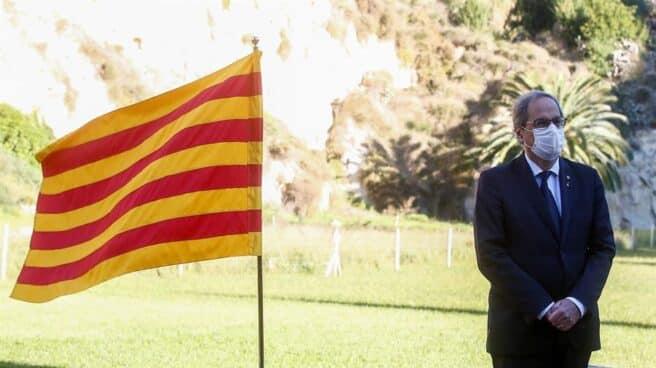 Quim Torra, presidente cuando la Generalitat pidió su personación en el caso del 3%.