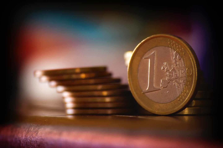 Monedas de 1 euro.