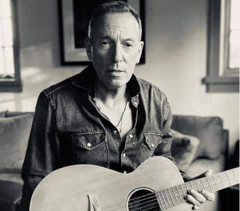 Bruce Springsteen a través de su cuenta de Instagram.