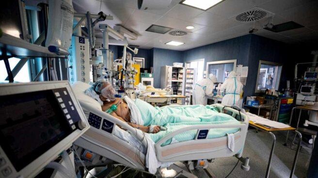 Una UCI en un hospital de Roma.