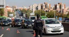 La DGT no registra retenciones de importancia en las salidas de Madrid