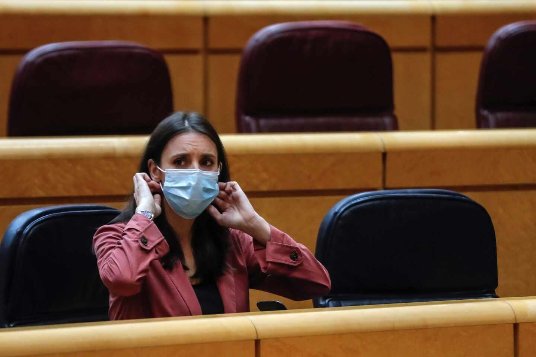 Irene Montero, en el Senado.