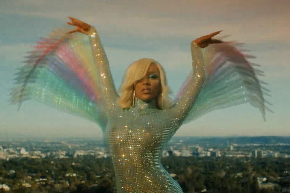 Doja Cat en el videoclip de 'Say so'