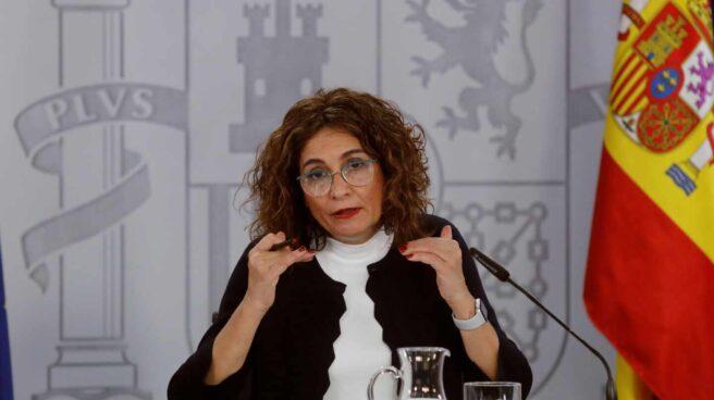 La ministra de Hacienda y ministra Portavoz, María Jesús Montero.