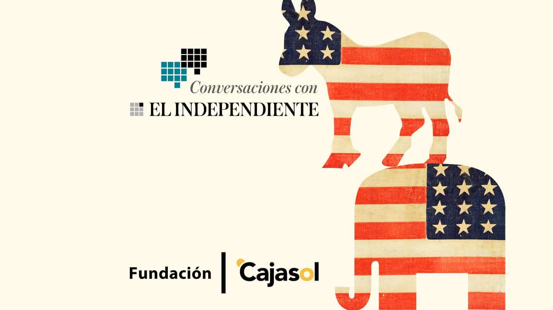 En Conversaciones con El Independiente patrocinadas por la Fundación Cajasol, el ex ministro de Industria socialista Miguel Sebastián y el portavoz del grupo parlamentario de Vox en el Congreso de los Diputados, Iván Espinosa de los Monteros, han analizado la gestión del presidente de EEUU, Donald Trump