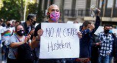 """La restauración se rebela contra la Generalitat: """"No aguantamos más"""""""
