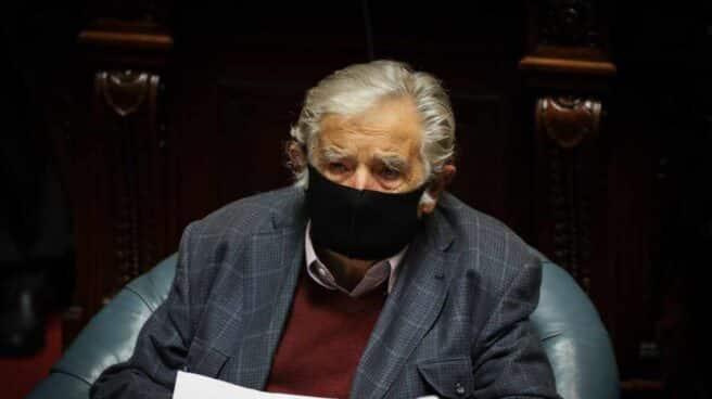 José Mujica, durante su discurso de despedida