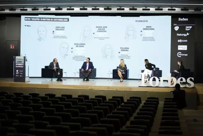 Expertos en economía circular y líderes empresariales, en el Forbes Summit Sustainability.