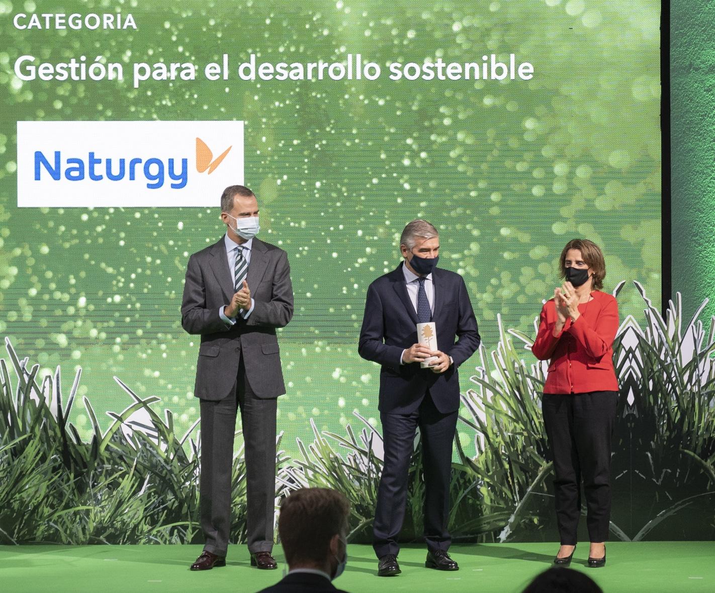 Naturgy galardonada Premio Sostenibilidad Comisión Europea
