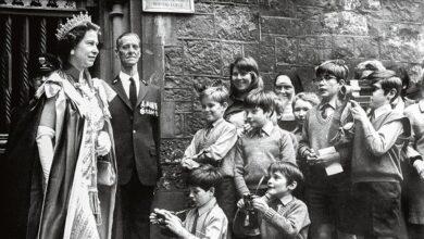 'God save the Queen': las imágenes inéditas que recorren la vida de Isabel II