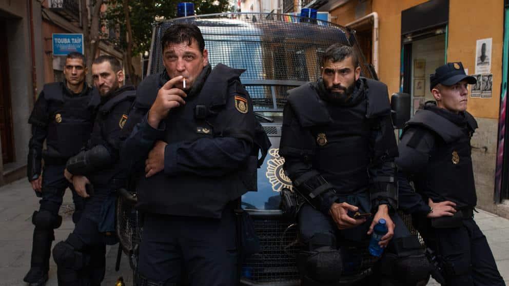 Fotograma de 'Antidisturbios'. Jaime Olmedo/Enrique Baró.