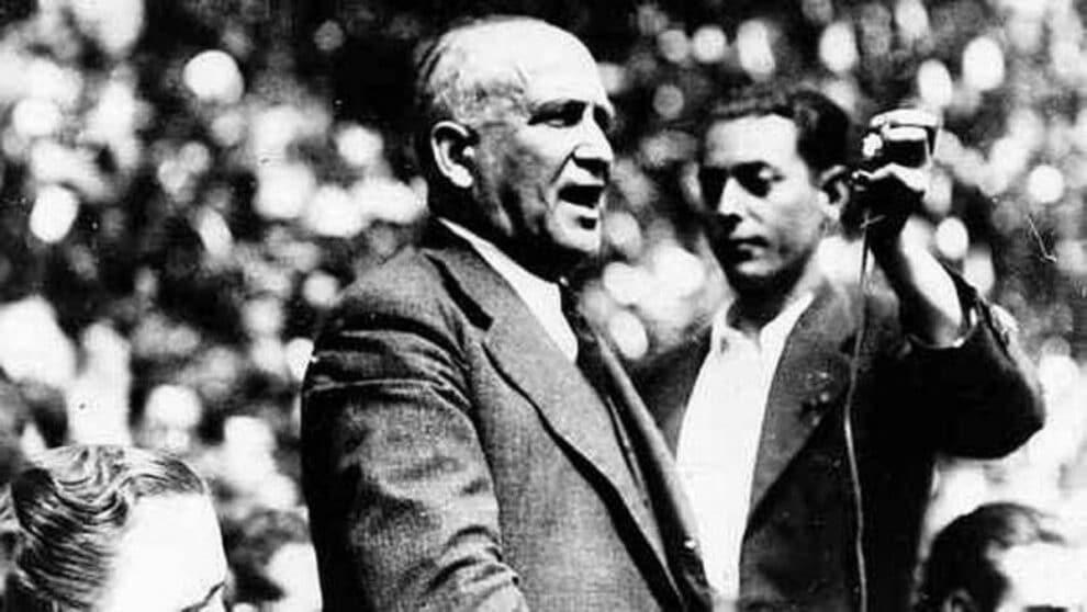 Francisco Largo Caballero, presidente de la República (1936-1937) durante la Guerra Civil.