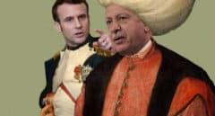 Choque geopolítico de titanes: el sultán Erdogan versus el emperador Macron