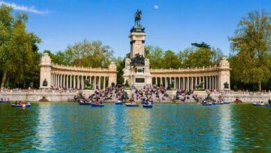Precaución en El Retiro y otros ocho parques de Madrid por alerta amarilla por viento