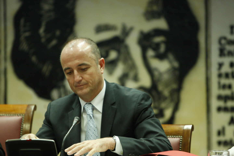 El ex ministro Miguel Sebastián, en una comparecencia en el Congreso.