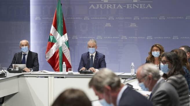 El lehendakari Iñigo Urkullu preside la reunión del comité asesor del LABI.